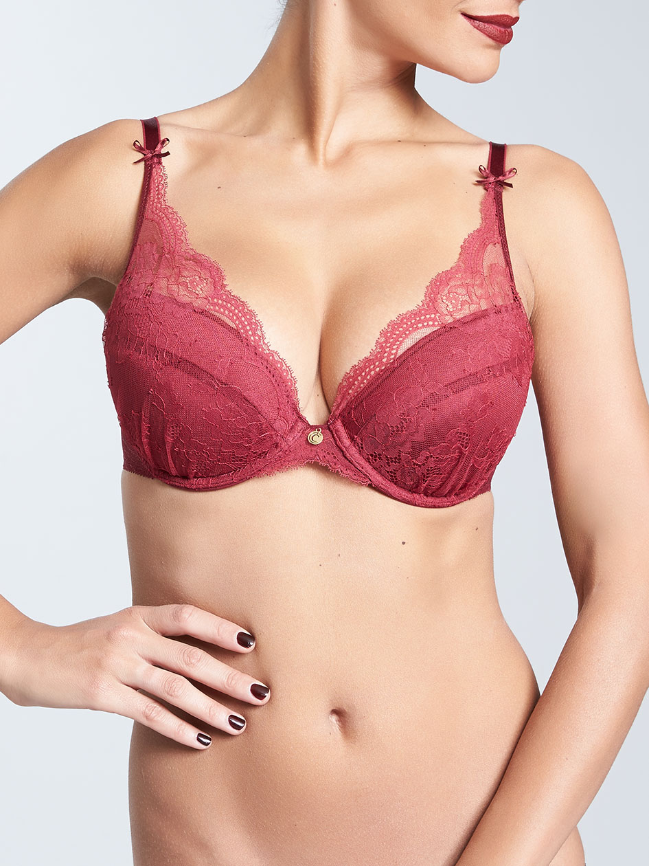 fea4bacc9c74a Présage Lace Push-Up Bra