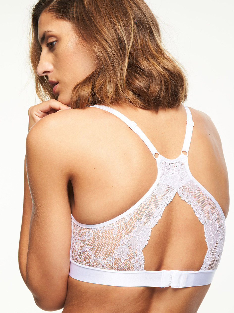 8daa9aa001 Everyday lace Racerback Wirefree Bralette