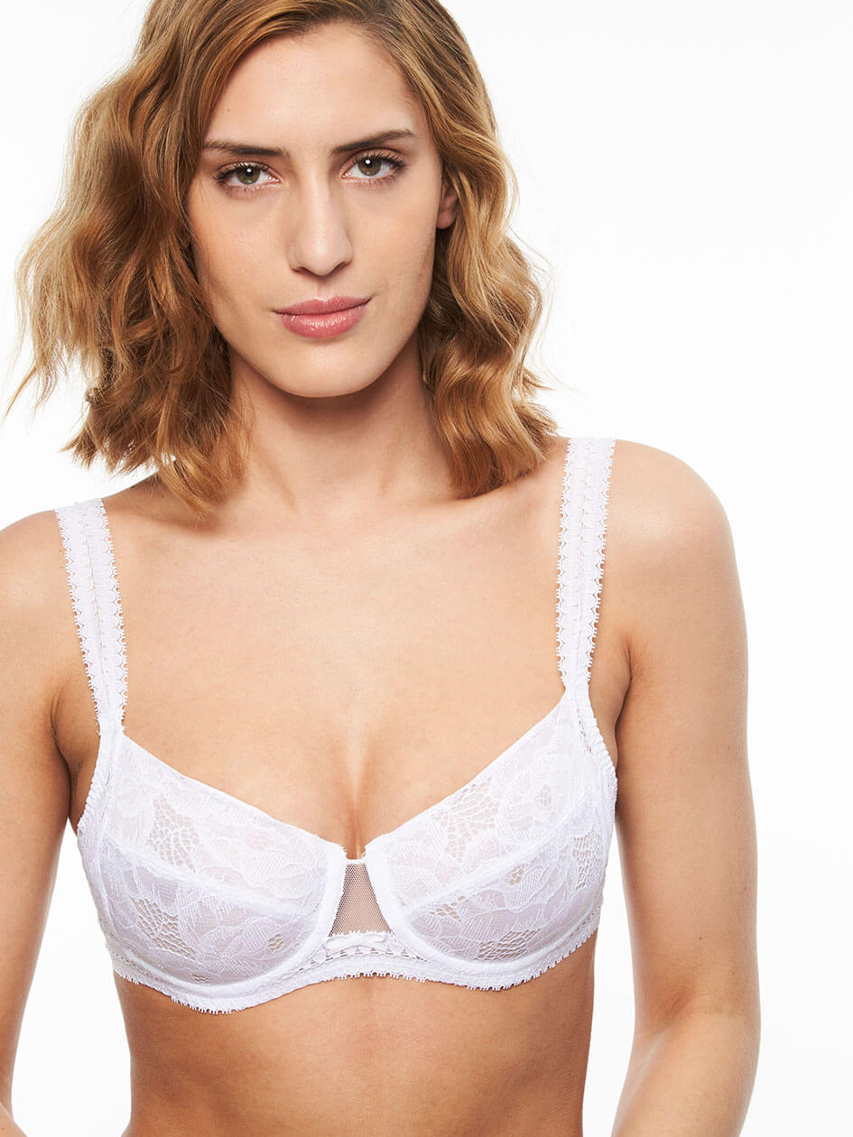 56c8ae937a Montsouris Lace Full Coverage Unlined Bra
