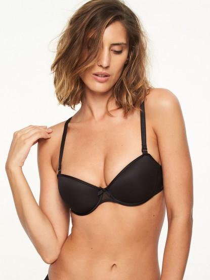 4dc08f2fc21 Modern Invisible Smooth Custom Fit Convertible Demi Bra - Bras ...