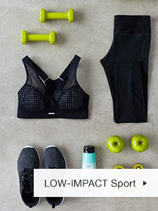Low Impact Wireless Sports Bra