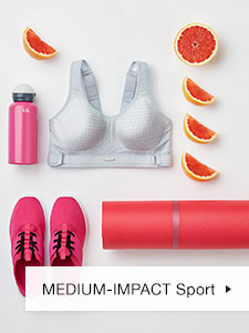 Medium Impact Wireless Sports Bra