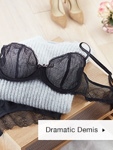 Fall Lace Demi Bra